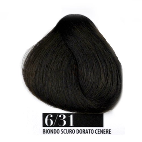 Tintura Capelli 6/31 Biondo Scuro Dorato Cenere Farmagan Hair Color Tubo 100ml