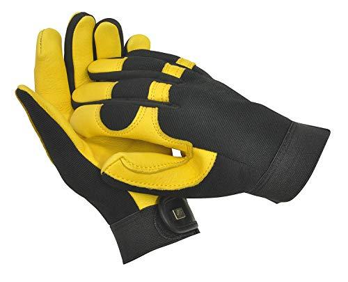 "WAGNER Gold Leaf Gloves ""SOFT TOUCH"" Damen - Gartenhandschuhe der Extraklasse, Hirschleder / flexibler Stoff - 25303100"