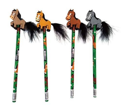 Creative Converting Pferde Party Bleistift mit Radiergummi