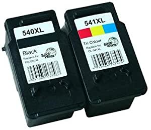 ink jungle pg540xl cl541xl black colour remanufactured ink cartridges for canon pixma mg2100. Black Bedroom Furniture Sets. Home Design Ideas