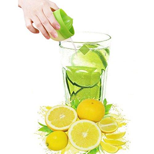 opuss 【 opuss Hand Squeezer 】 Fruits Mini Saft Hand Squeezer Umweltfreundlich Material Manuelle Zitruspresse Saftpresse Werkzeug (1Stück)