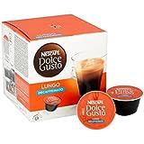 Nescafé Dolce Gusto Lungo Gousses Décaféiné 16 Par Paquet - Paquet de 2