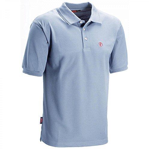 Fjällräven Herren T-shirt Crowley Pique Blau
