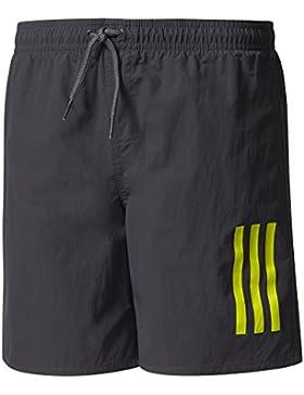 adidas Jungen 3-Streifen Middle Length Badeshorts