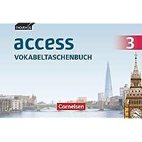 English G Access - Allgemeine Ausgabe und Baden-Württemberg - Band 3: 7. Schuljahr: Vokabeltaschenbuch