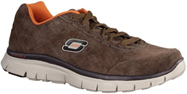 Skechers Herren Sneaker Flex Advantage Fast Trace  brownSkechers Deutschl GmbH 999704 Größe Braun