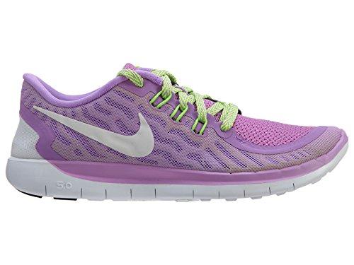 Nike Free 5.0 (Gs), Chaussures de running garçon Pourpre