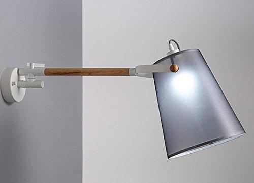 FWEF Lampada Da Parete Di Ferro Arte Del Legno Panno Moderna Nordic Scala Illuminazione Creativa Di Illuminazione Camera Da Letto Camera Da Letto Corridoio . A