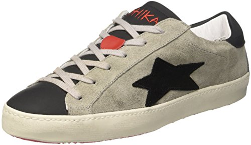 ISHIKAWA Low, Sneakers basses mixte adulte Gris