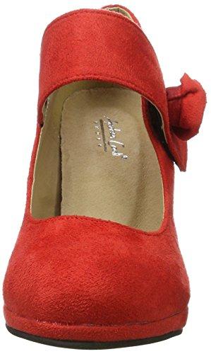 Andrea Conti - 0592580, Scarpe col tacco Donna Rosso (Rot)