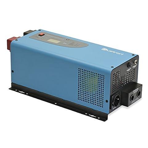 bluetron LSI-Serie | Sinus Wechselrichter mit Ladegerät und NVS | 12V auf 230V | 4 Varianten: 1000W - 3000 W | Sinus Inverter mit Batterieladegerät und Netzvorrangschaltung absolut reine Sinuswelle | 3-in-1 12V DC zu AC 230V Spannungswandler, Power Inverter inkl. Batterie Ladegerät und NVS (3000 W)