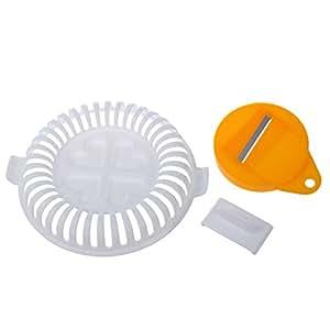 SODIAL(R) Plastique DIY Chips de Pomme de terre Machine Legumes Tranchoir Micro-ondes Croustillant Nouveau