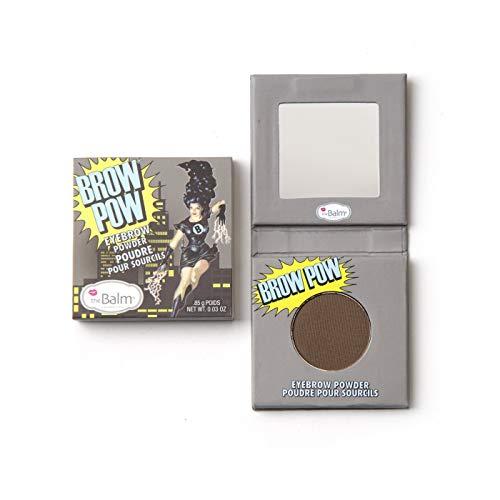 Brown Brow Powder (theBalm Augenbrauenpuder Brow Pow Eye Brow Powder, Dark Brown,1er Pack (1 x 0.85 g))