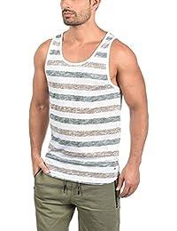 BLEND Napolito T-Shirt Maglietta Senza Manica Canotta da Uomo con Girocollo