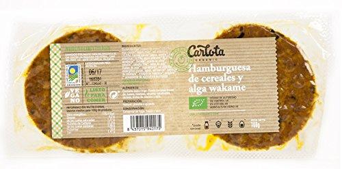 HAMBURGUESAS Vegetales DE CEREALES Y ALGA WAKAME Packs 12