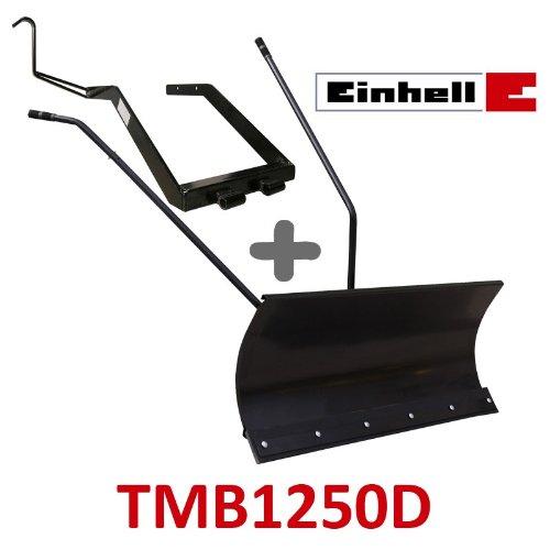 Lame à Neige 118 cm Noire + adaptateur pour Einhell TMB1250D