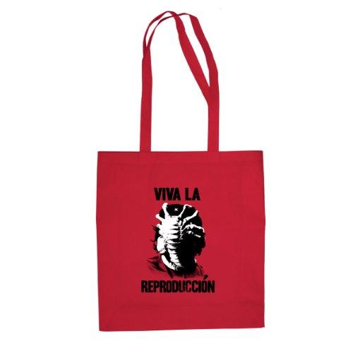 Viva la Reproduccion - Stofftasche / Beutel Rot