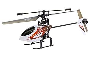 XciteRC 13010000-Flybar 290E Easy Single Blade-4Canal RTF Helicóptero