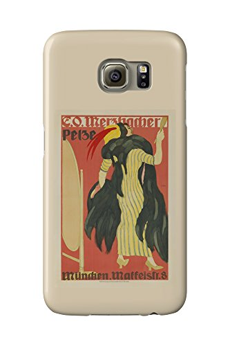 e-o-merzbacher-pelze-vintage-poster-artist-hofer-germany-c-1910-galaxy-s6-cell-phone-case-slim-barel