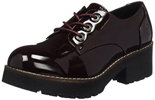 COOLWAY 23044210, Zapatos Cordones Mujer, Borgoña