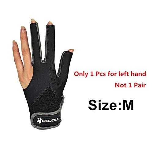 Elastische Lycra 3 Finger Show Handschuhe Für Billardschützen Carom Pool Snooker Queue Sport Für Männer Frauen