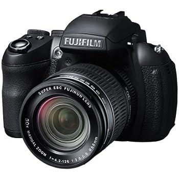 Fujifilm FinePix HS30EXR Digitalkamera (16 Megapixel, 30-fach opt. Zoom, 7,6 cm (3 Zoll) Display, bildstabilisiert) schwarz