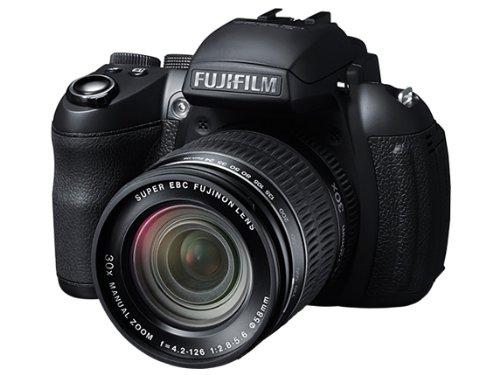 Fujifilm finepix hs30, fotocamera digitale 16 mp, sensore cmos exr, zoom 30x 24-720 mm, stabilizzatore meccanico, batteria al litio