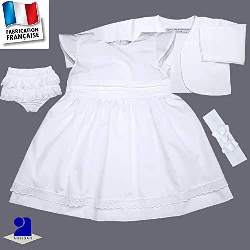 d2b19ee4eef Poussin Bleu - Tenue baptême robe