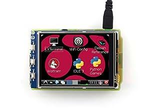 Waveshare Raspberry Pi 3,2 pouces TFT écran tactile LCD (A) 320 * 240 pour Raspberry Pi RPi / Raspberry Pi 2 Modèle B / Raspberry Pi 3 Modèle B