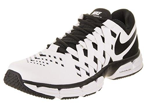 Nike Men's Lunar Fingertrap Training Shoe White/Black Size 11 M US (Air 90 Herren-nike)