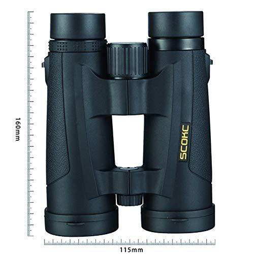 8x42 Kompaktferngläser Zur Vogelbeobachtung Wasserdichtes Bak4-Teleskop Mit Stickstofffüllung Für Die Jagd Auf Vögel (Color : 8x42) -