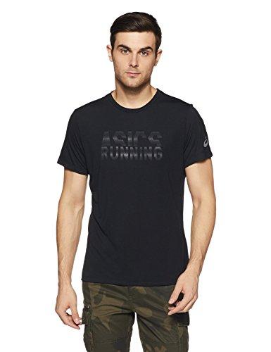 Asics Kurzarmshirt Graphic, Balance Black, L, 141265-0905 Preisvergleich