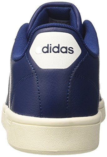 adidas Herren Cloudfoam Advantage Sneaker Blau (Mysblu/mysblu/ftwwht)