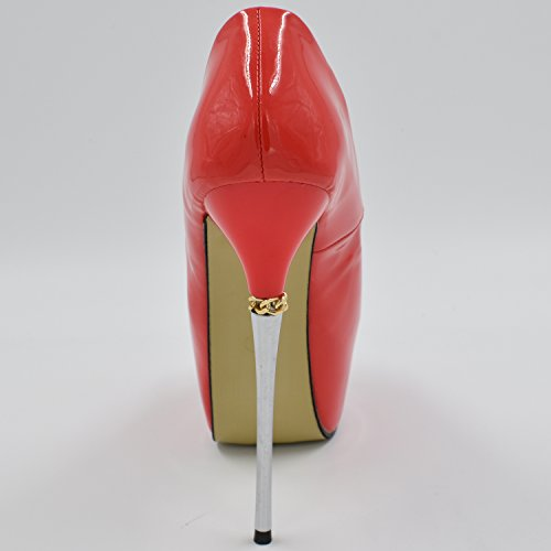 Oasap Femme Chaussure Escarpin Sexy A Talons Hauts Talons Aiguilles A Enfiler Bout Ouvert off-white