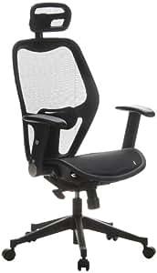 hjh OFFICE Air Port Mesh Office/Executive Chair - Black