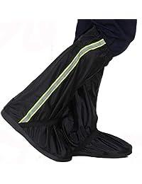 Scarpe da pioggia unisex Stivali da pioggia in stoffa per adulti di Oxford  Set Uomini e donne in sella a un escursione con il… 6edd61086674
