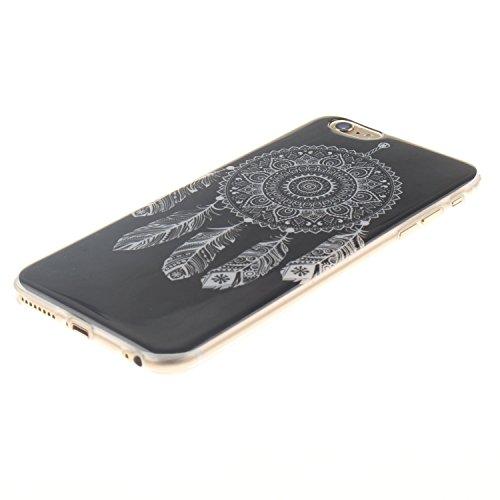 Voguecase® Pour Apple iPhone 6/6S 4.7, TPU Silicone Shell Housse Coque Étui Case Cover (tête de lion 01)+ Gratuit stylet l'écran aléatoire universelle campanule blanche 01
