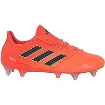 half off 9fd82 78ca5 adidas Performance Ace 17.1 - Botas de fútbol para Hombre, Piel, Color  Naranja,