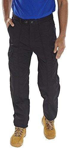 Click 7, Polyester/Baumwolle, Schwarz, schwarz, 40 W/34 L