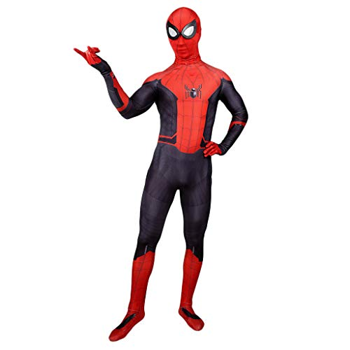 Spider-Man: Weit weg von zu Hause, SpiderMan Cosplay Elastische Strumpfhosen Erwachsene Bühnenshow Filmshow Kostüm Requisiten Weihnachtsfeier Kleid Requisiten,Spider Man: Far From Home-XXXL