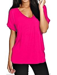 faozofashion - Camiseta - para mujer