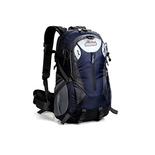 40L modelli nuova esplosione DeyiLong all'aperto sacchetto di alpinismo uomo pacchetto escursioni signora con un sistema di sospensione deep Blue