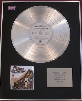 Flying Burrito Bros CD Platinum Disc The Gilded Palace