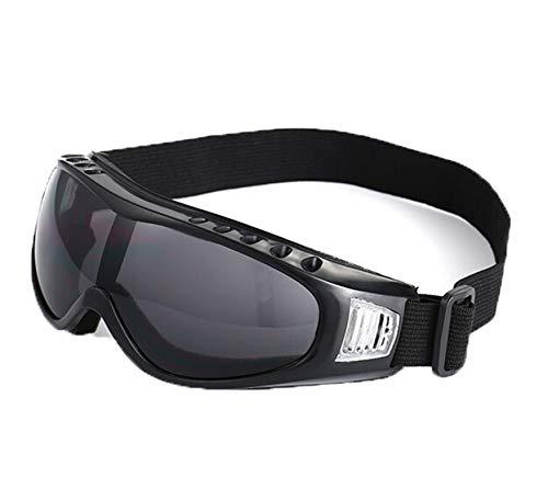 Fahrradbrille Transparent Outdoorbrillen Motorradsportbrillen Tragen Undurchlässige Fächer Taktische Skibrillen Black Damen Herren