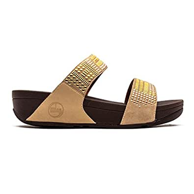 Fitflop Aztek Chada Slide Rose Gold - 41 EU