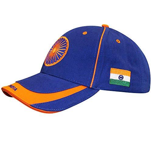 india Baseballkappe für Cricket-Fans, 100% Baumwolle, verstellbar