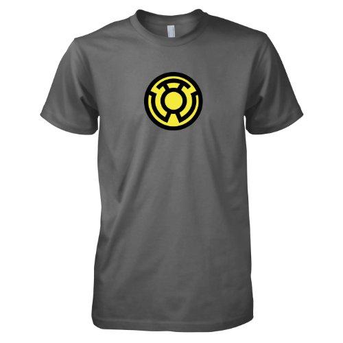 TEXLAB - Sinestro Corps - Herren T-Shirt, Größe XXL, grau