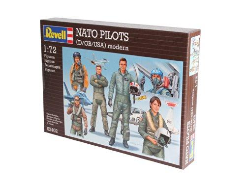 Preisvergleich Produktbild Revell 02402 - Modellbausatz - Combat Pilots (D/GB/USA) modern im Maßstab 1:72