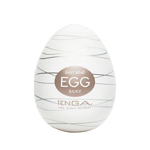 Tenga Egg Einweg-Masturbationsei Silky, Soft Boiled