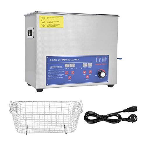 200W 304 Prodotti per la pulizia di laboratorio in acciaio inossidabile 40KHz 6L Digital Ultrasonic Cleaner Industria Potenza Temperatura regolabile(3)